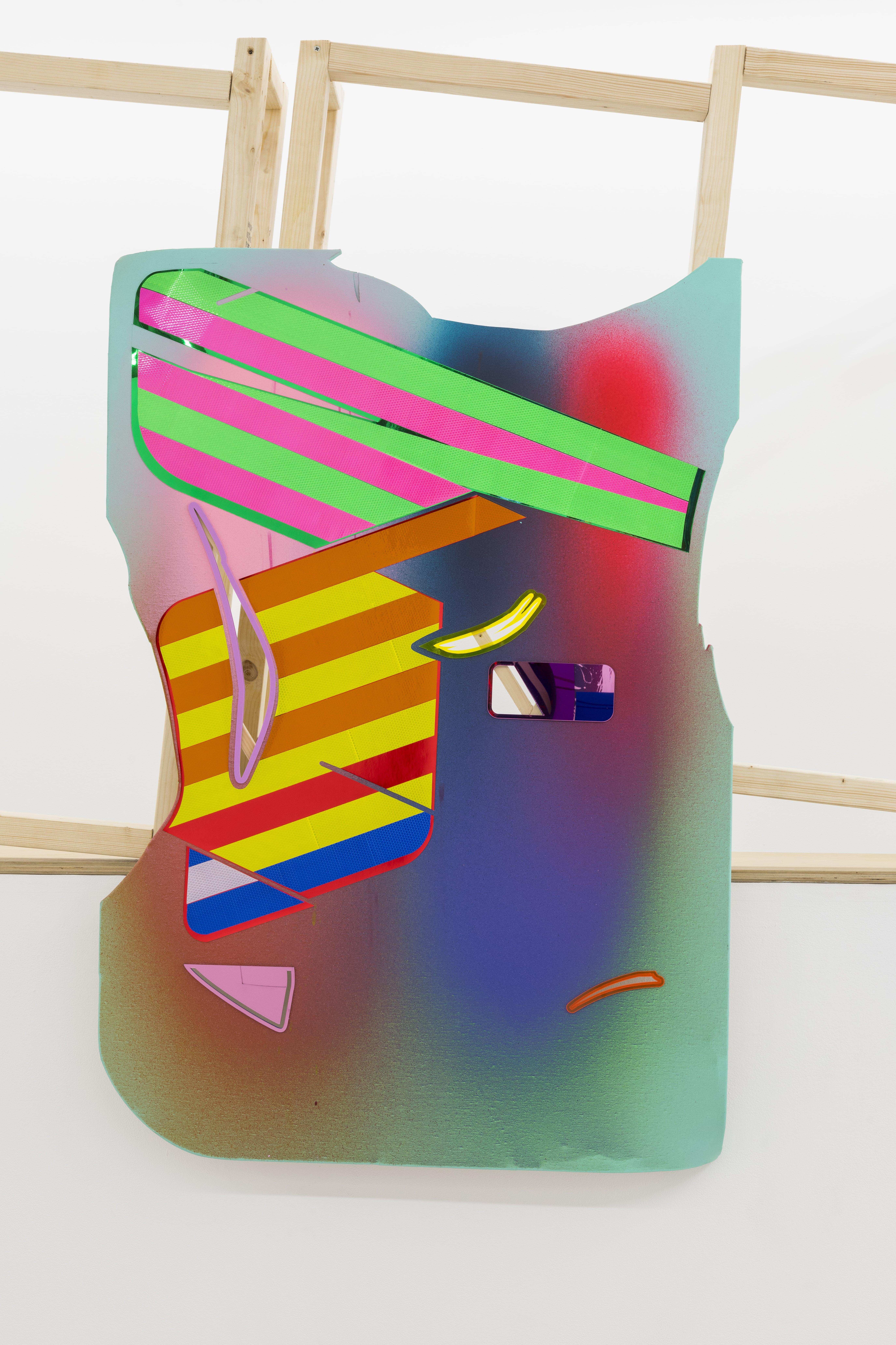 NemesM_Police-Paintings-05_2018_130x90cm_light-reflective-vinyl-mirror-paper-lasercut-perspex-acrylic-canvas-wood-min