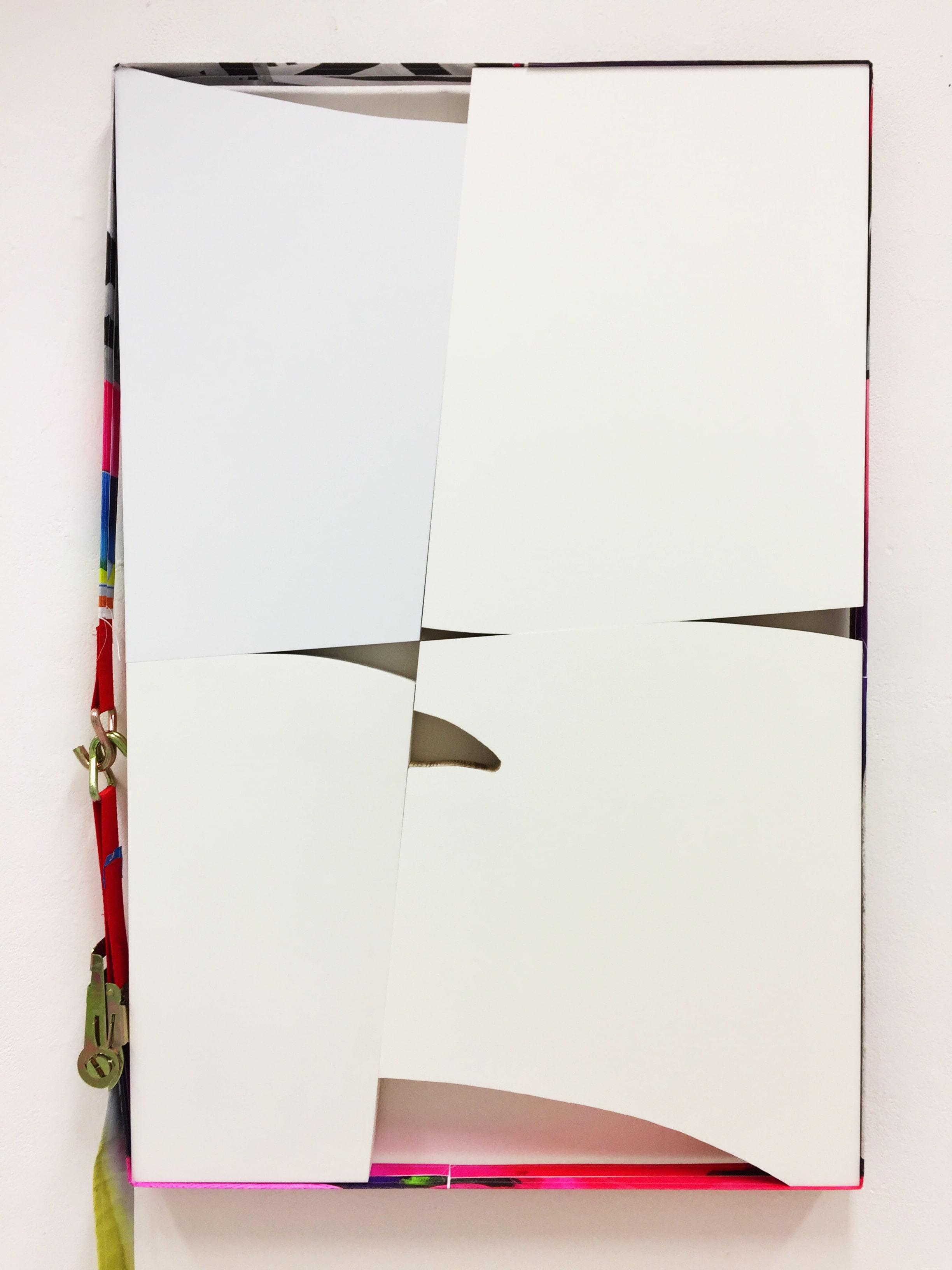 NemesM_Temporary-Edges-05_2018_120x96cm_acrylic-gesso-varnish-offset-print-cargo-strap-wood-min