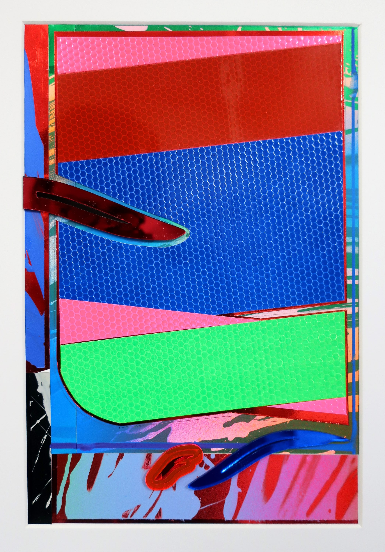 NemesM_Police-Papers-01_2018_40x30cm_lasercut-perspex-acrylic-light-reflective-vinyl-mirror-board-min