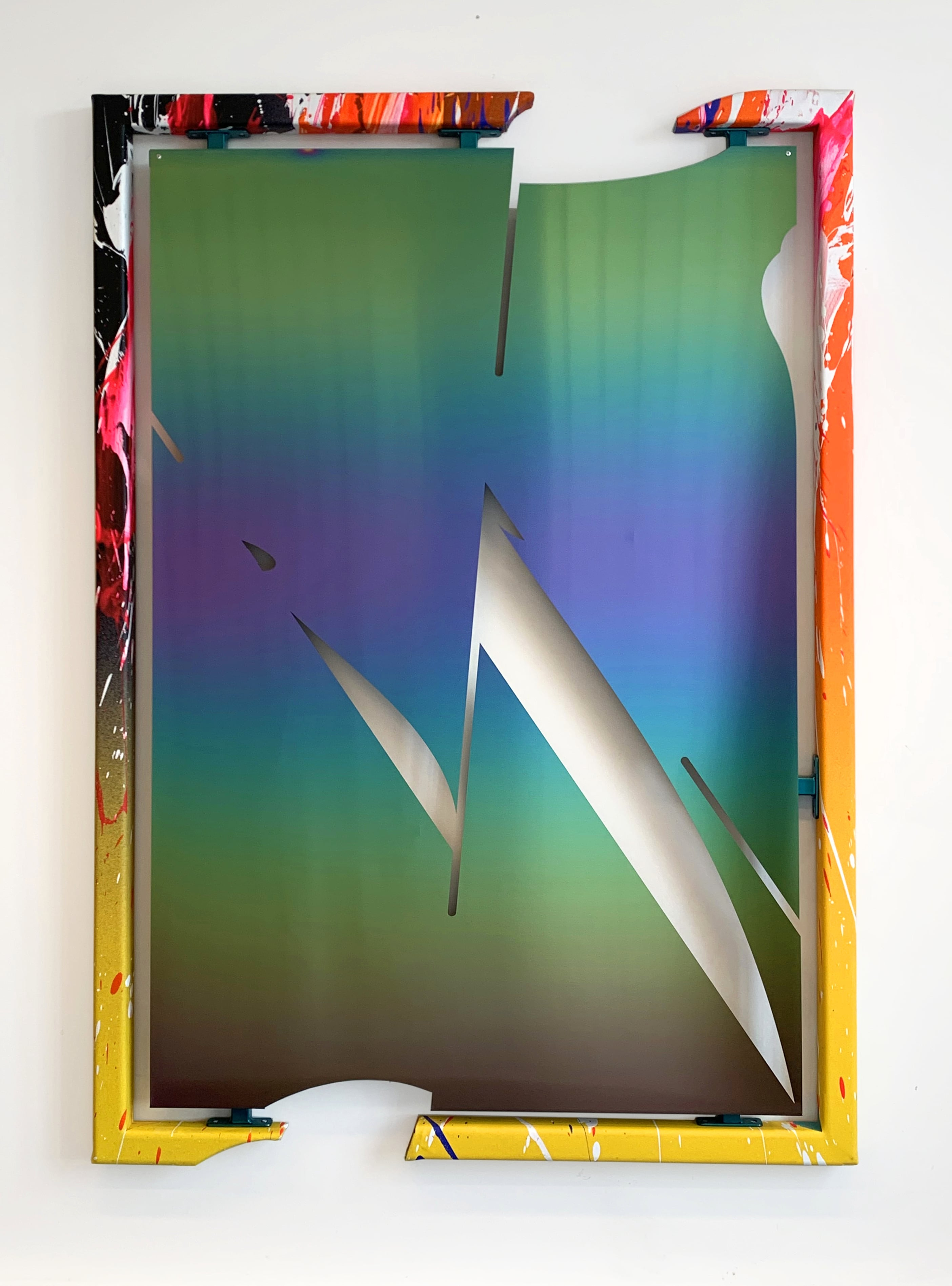 NemesM_The-Void-Paintings-05_2020_136x96cm_PVD-coated-stainless-steel-carpaint-steel-acrylic-canvas-wood-min